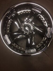 ####awesome staggered set of rims/tires
