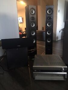 3.1 home theater set up for sale  Windsor Region Ontario image 1
