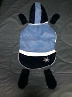 NAVY/BLUE JACKET AND BOOTS FOR SMALL-MEDIUM DOG