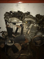 Mercedes W201 190D Diesel Engine Assembly 130K Km 2.2L A/T