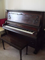 Upright Heintzman of Toronto Piano