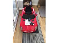 Sit and ride battery operated Mercedes