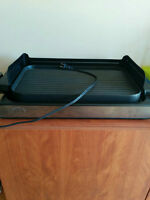 """Wolfgang puck Indoor """"Reversible"""" Electric Grill"""