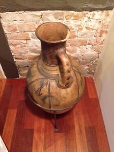 Reproduction Floor Vase in stand.  Belleville Belleville Area image 2