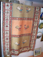 GEORGEOUS HAND KNOTTED NAVAJO RUG