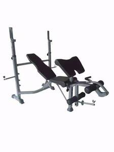 New Bench Press with Leg Ext/Preacher Pad and Wide Bench Base! Malaga Swan Area Preview