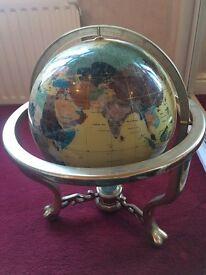 Pearl atlas globe