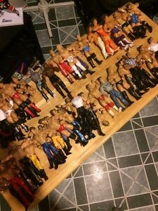 OVER 200 WWE WRESTLING ACTION FIGURES!!