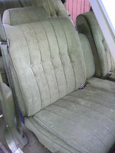 GM Buick Seat Package