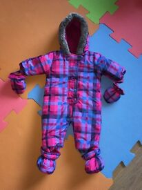 Snowsuit, 0-3months (Almost New)
