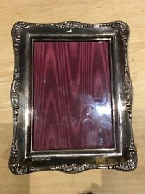 Silver photo frame LOVELY MOTHERS DAY PRESENT