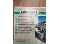 Mini craft variable transformer & jig saw