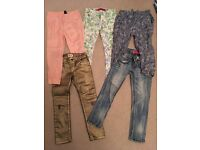 Girls trousers 6 years old