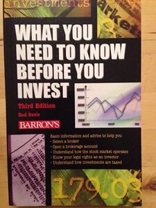 What do you need to know before you invest Barron's Gatineau Ottawa / Gatineau Area image 1