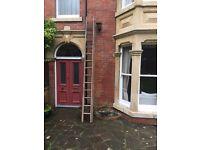 24 foot ladder (extends from 12 feet to 24 feet)