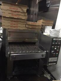 Chain Automatic Pizza oven