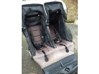 Baby jogger city classic double pushchair