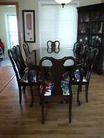Solid Mahogany Gibbard Dining Suite