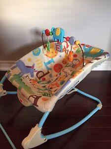 Bouncy chair/vibrating chair