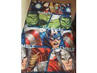 Avengers single duvet cover and pillow case