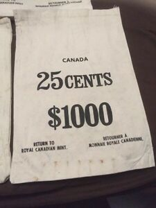 Canadian mint moneybags Kitchener / Waterloo Kitchener Area image 2