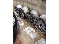 Bmw e46 m3 genuine wheels great condition