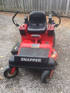 "38"" Snapper Riding Lawn Mower"