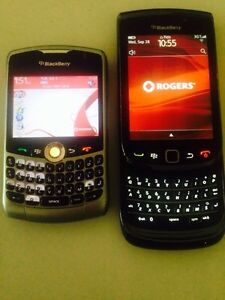 Unlocked blackberry curve and torch for sale