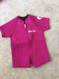 Baby girls wetsuit