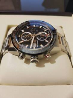 Tag Heuer Carrera HEUER 01 Mens Chronograph. Mint Condition.