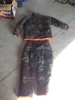 Camo Winter Hunting Suit