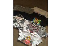 7 boys t shirts -7 yrs