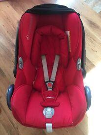 Maxi cosi red car seat