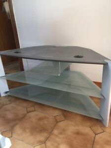 Glass TV stand -Moving SALE