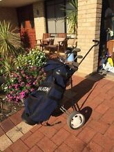 Golf clubs inc bag & buggy Pearsall Wanneroo Area Preview
