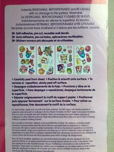 Shopkins Wall Decals--never opened.  Windsor Region Ontario image 2