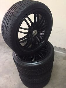 """17""""Aftermarket wheels & Low pro Winters must see"""