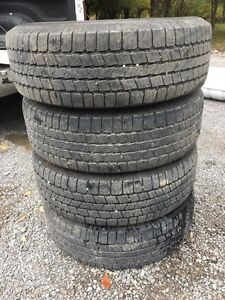 Wrangler SR-A tires 265/70/17 Peterborough Peterborough Area image 2