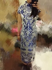 cheongsam size m but fit a small