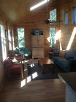 Waterfront camp on Agnew Lake, 20$ annual taxes, 2005 boat incl.