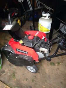 Gas powered snow blower for sale