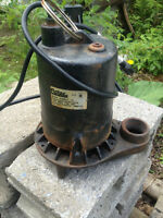 Pompe submersible (sump pump) 1 force