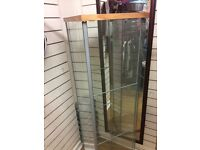 Glass shop cabinets x3