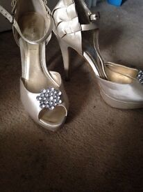 Ladies shoes and dresses