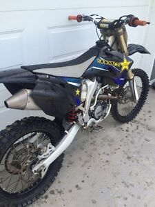 2009 yz 250f trade for truck or sled Strathcona County Edmonton Area image 5