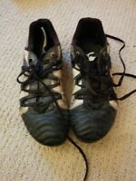 Canterbury Leather Rugby Cleats (metal studs) Size 9.5 M / 11 W