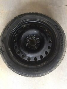Winter tires with rim for sale!  London Ontario image 4