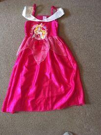 Disney Sleeping Beauty dress 7-8 years