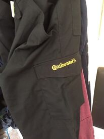 Continental work trousers