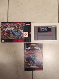 Turtles in time for Super Nintendo